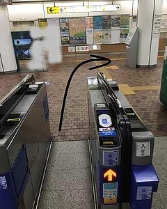 新神戸駅からの進み方
